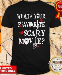 Official Ghostface Whats Your Favorite Scary Movie Shirt