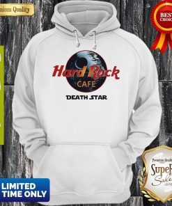 Official Star Wars Hard Rock Cafe Death Star Hoodie