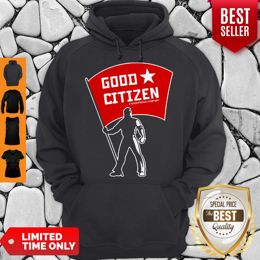 Official Good Citizen Listen To Clay Jenkins Hoodie