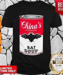 Funny China's Corona Bat Soup Shirt