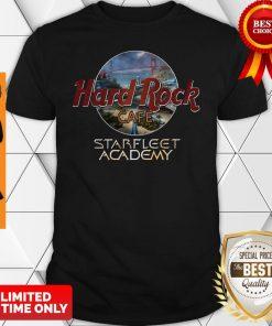Premium Hard Rock Cafe Starfleet Academy Shirt