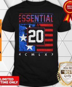 Top Essential 20 American Flag Veteran Shirt