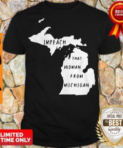 Impech That Woman From Michigan State Map Shirt