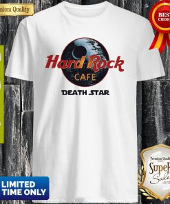 Official Star Wars Hard Rock Cafe Death Star Shirt