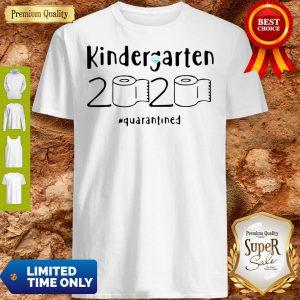 Kindergarten 2020 Quarantined Coronavirus Shirt