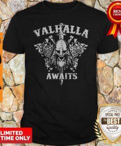 Official Valhalla Awaits Shirt