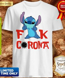 Official Stitch Fuck Corona Covid-19 Shirt