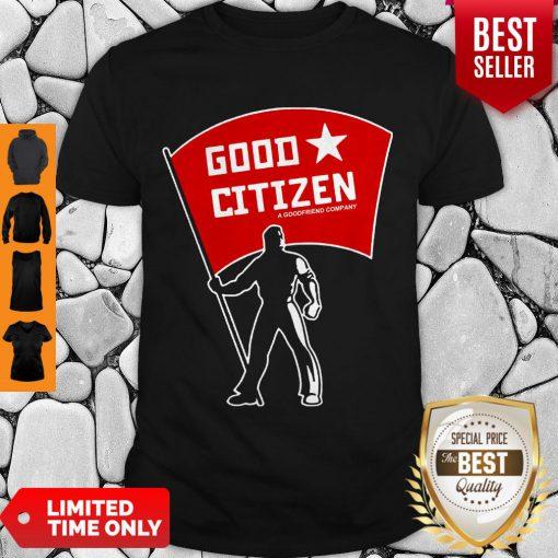Official Good Citizen Listen To Clay Jenkins Shirt
