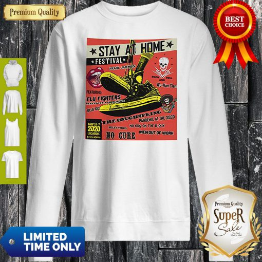 Stay At Home Festival Wu-Han Clan The Coughspring Covid-19 Sweatshirt