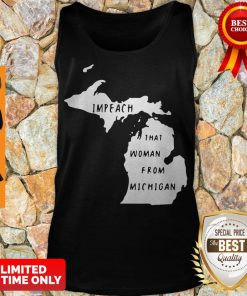 Impech That Woman From Michigan State Map Tank Top