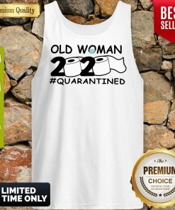 Top Old Woman 2020 Toilet Paper Quarantined Tank Top