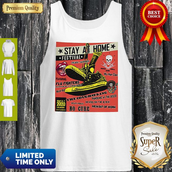 Stay At Home Festival Wu-Han Clan The Coughspring Covid-19 Tank Top