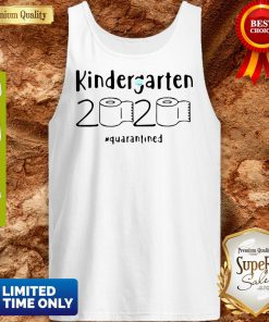 Kindergarten 2020 Quarantined Coronavirus Tank Top