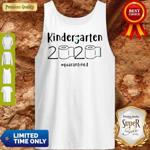 Kindergarten 2020 Quarantined Coronavirus Tank Top