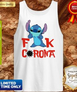 Official Stitch Fuck Corona Covid-19 Tank Top
