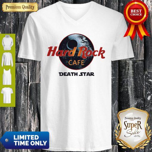 Official Star Wars Hard Rock Cafe Death Star V-neck