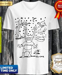 Official RIP Daniel Johnston V-neck