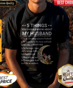 5 Things You Should Know About My Husband Mickey And Minnie Shirt