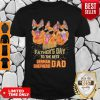 Happy Fathers Day To The Best Cat German Shepherd Shirt