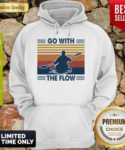 Boating Go With The Flow Vintage Hoodie