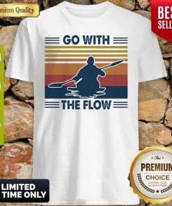 Boating Go With The Flow Vintage Shirt