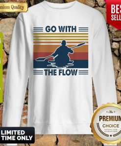 Boating Go With The Flow Vintage Sweatshirt