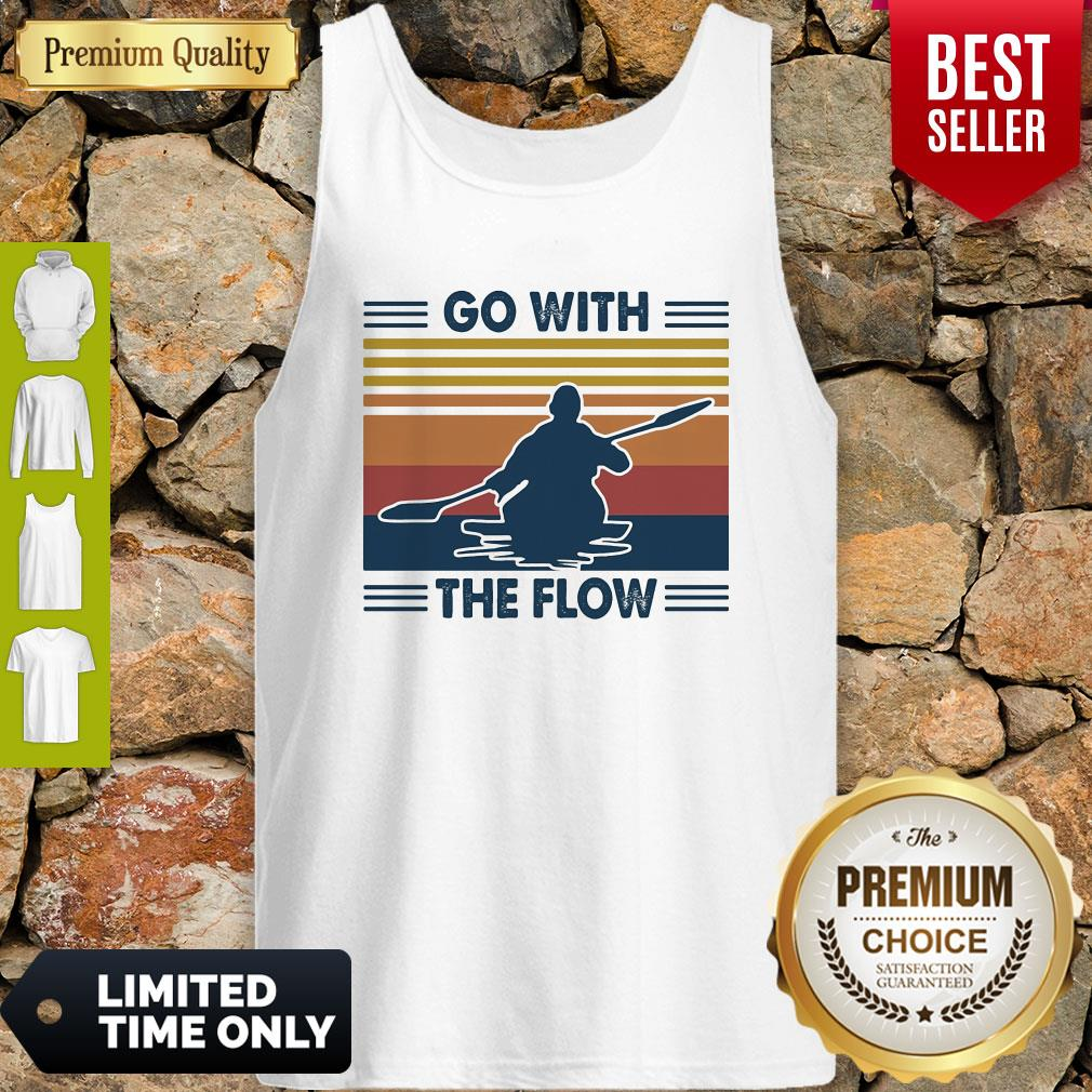 Boating Go With The Flow Vintage Tank Top