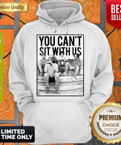 Awesome Minor Threat Horror You Can't Sit With Us Hoodie