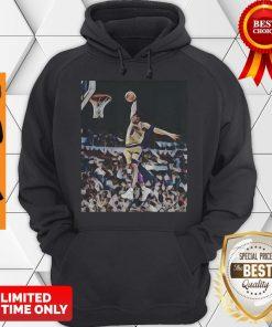 Nice Kobe Bryant Playing Basketball Los Angeles Lakers Team Hoodie