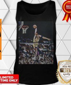 Nice Kobe Bryant Playing Basketball Los Angeles Lakers Team Tank Top