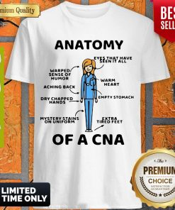Official Top Anatomy Of A CNA Shirt