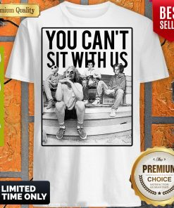 Awesome Minor Threat Horror You Can't Sit With Us Shirt