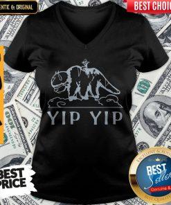 Funny YIP YIP V-neck