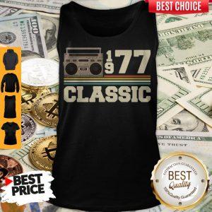 Official Cassette 1977 Classic Vintage Tank Top