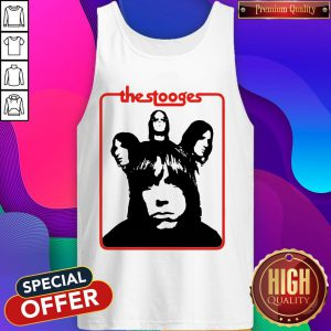 Official The Stooges Iggy Pop Rock Band Tank Top
