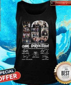 Premium 10 Years Of One Direction 2010 2020 Signatures Tank Top
