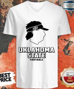 Premium Oklahoma State Football OSU Mike Gundy V-neck