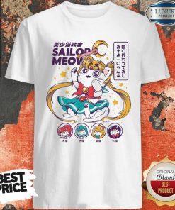 Premium Sailor Meow Anime Shirt