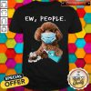 Awesome Poodle Face Mark Ew People Shirt