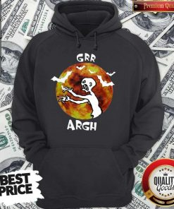 Awesome Zombie Vampire Grr Argh Mutant Enemy Halloween Hoodie