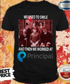 Horror Movie Characters We Used To Smile And Then We Worked At Unitedhealth Group Halloween Shirt