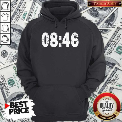 Nice 0846 I Can't Breathe BLM Protest Hoodie