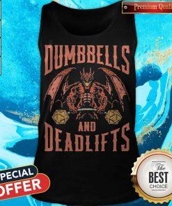 Premium Dumbbells And Deadlifts Tank Top