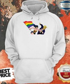 Premium LGBT Wonder Woman Punch Trump Hoodie
