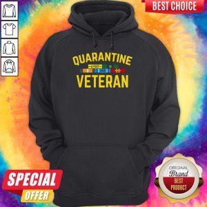 Premium Quarantine Covid 19 Veteran Hoodie