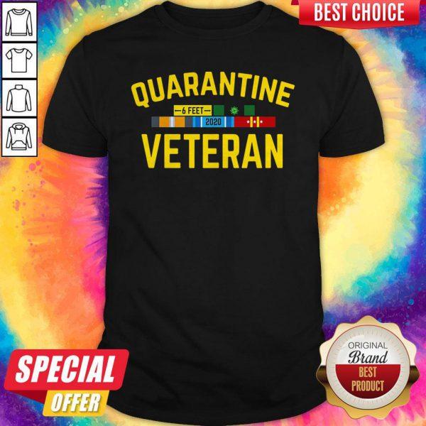Premium Quarantine Covid 19 Veteran Shirt