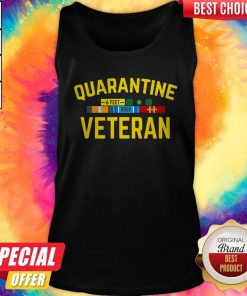 Premium Quarantine Covid 19 Veteran Tank Top