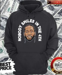 Premium Zion Williamson Shirts Nobody Smiles In The 4th Hoodie