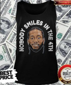 Premium Zion Williamson Shirts Nobody Smiles In The 4th Tank Top