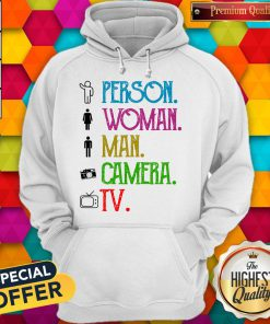 Pretty Person Woman Man Camera TV Song 2020 Hoodie